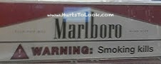 Photo of Marlboro Warning Smoking Kills