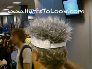Photo of Crazy Hair Visor