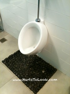 Photo of W Hollywood Hotel Urinal Stone Floor Mat