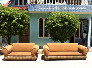 Photo of Street Couches Iquitos Peru HTL Watermark