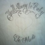 You'll Alway Be Baby To Me Tattoo
